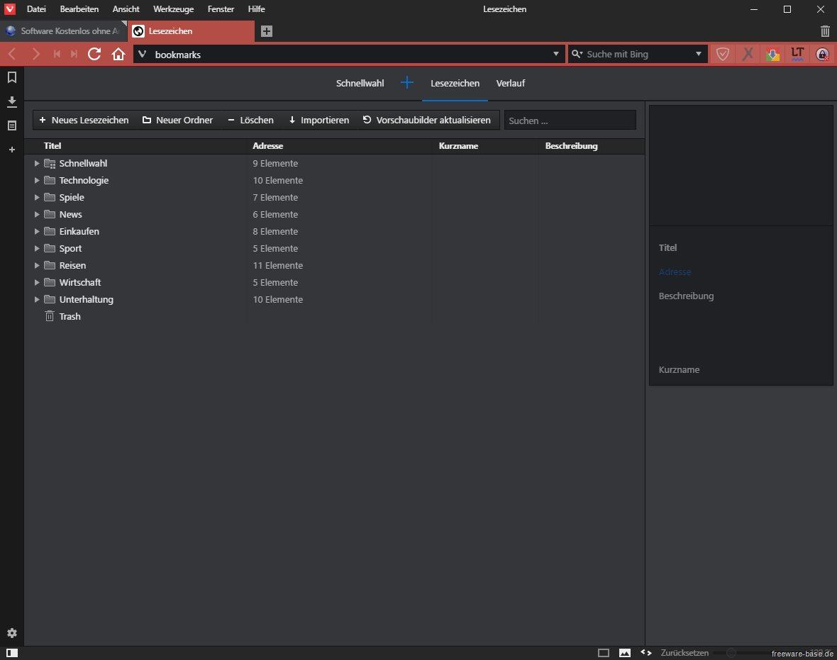 Vorschau Vivaldi - Web Browser - Bild 3