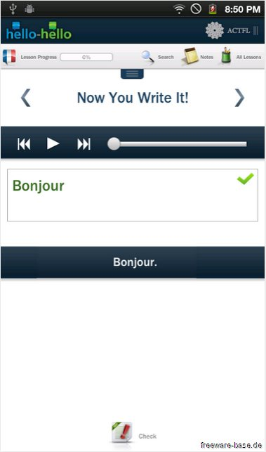 Vorschau Learn French Hello Hello for Android - Bild 3