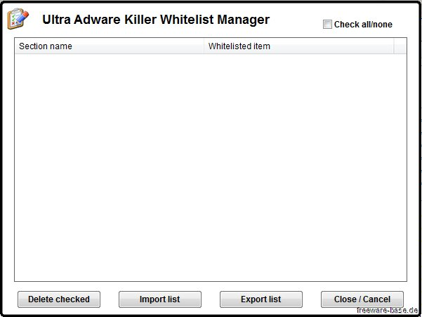 Vorschau Ultra Adware Killer - Bild 3