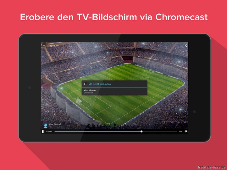 Vorschau Magine TV for Android - Bild 3