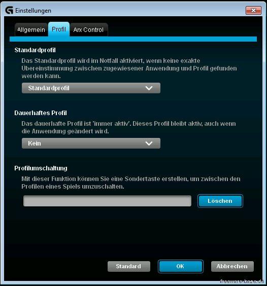 Vorschau Logitech Gaming Software - Bild 3