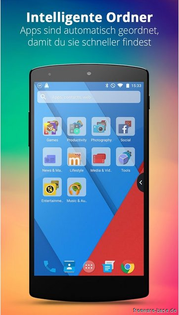 Vorschau UR 3D Launcher fuer Android - Bild 3
