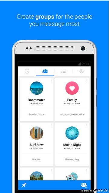Vorschau Facebook Messenger für Android - Bild 3