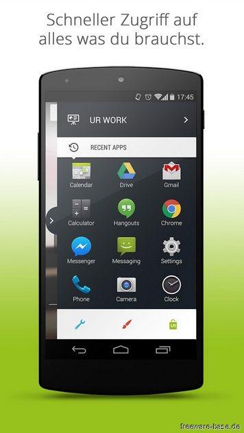Vorschau UR Mood Launcher fuer Android - Bild 3