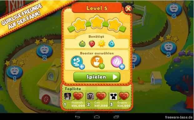 Vorschau Farm Heroes Saga für Android und iPhone - iPad - Bild 3