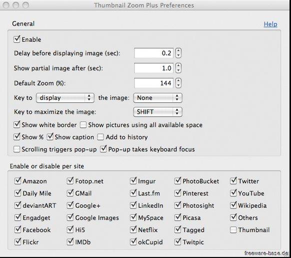 Vorschau Thumbnail Zoom Plus für Firefox - Bild 3