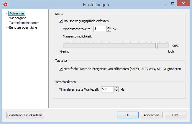 Vorschau Mouse Recorder Premium - Bild 3