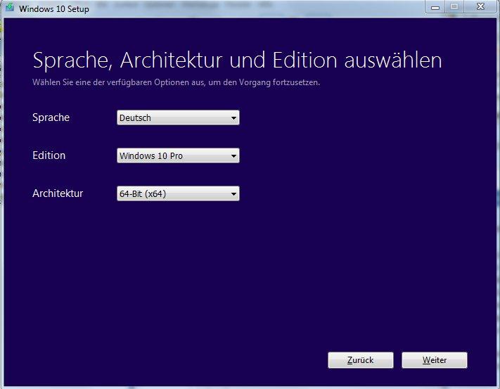 Vorschau Media Creation Tool für Windows 10 - Bild 3