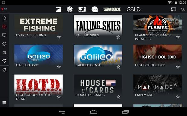 Vorschau 7TV - Mediatheken - TV Livestream für Android - Bild 3