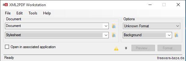 Vorschau Altsoft Xml2PDF Workstation - Bild 3