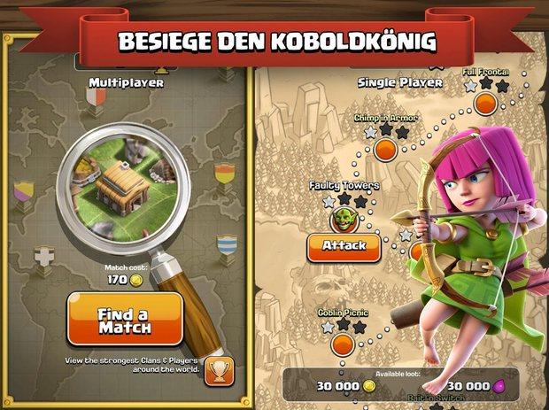 Vorschau Clash of Clans für Android und iOS - Bild 3