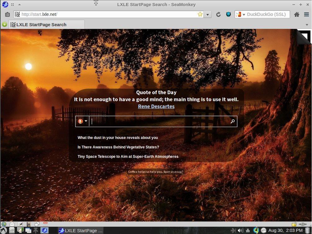 Vorschau LXLE Linux System - The LXLE Desktop - Bild 3
