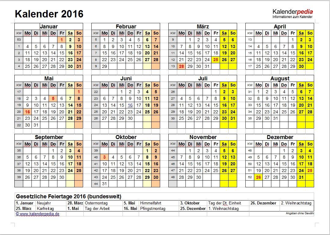 Vorschau Word Kalender Paket - Bild 3