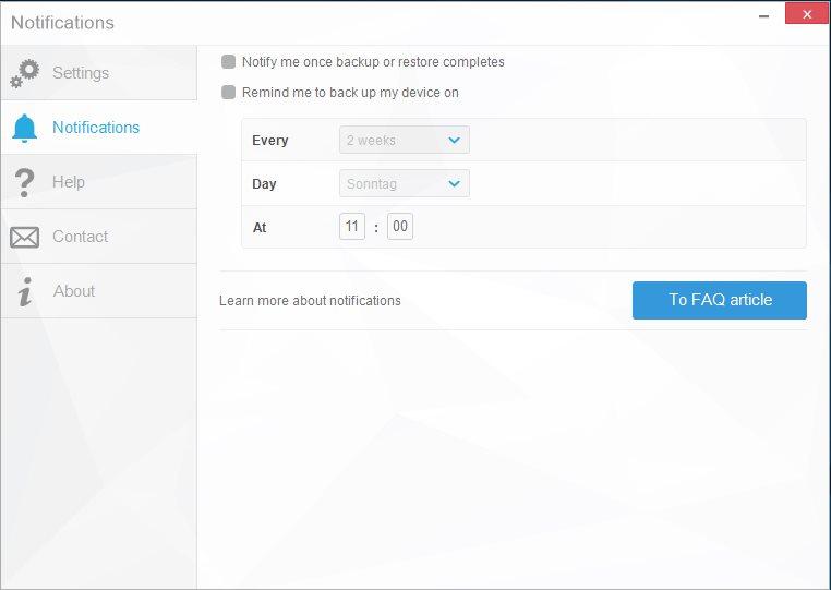 Vorschau CopyTrans Shelbee für iOS - Bild 3
