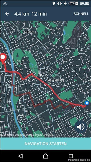 Vorschau Bike Citizens Fahrrad Navi GPS für Android - Bild 3
