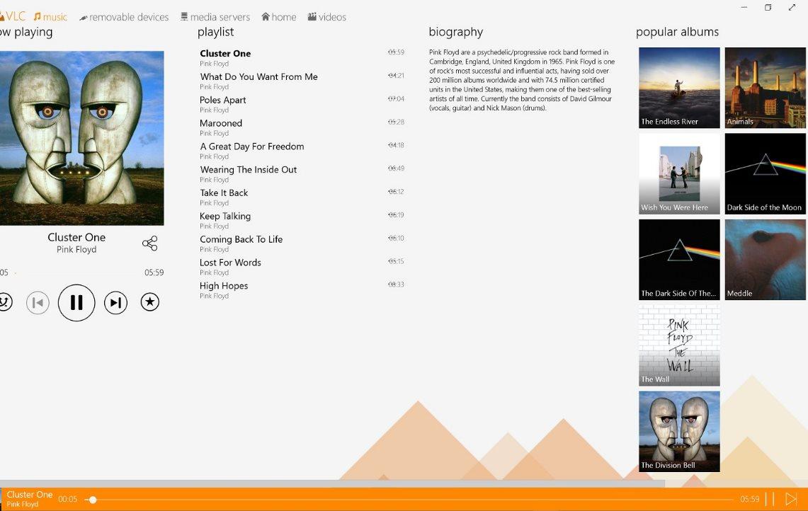 Vorschau VLC Media Player fuer Windows 8 und 10 App - Bild 3