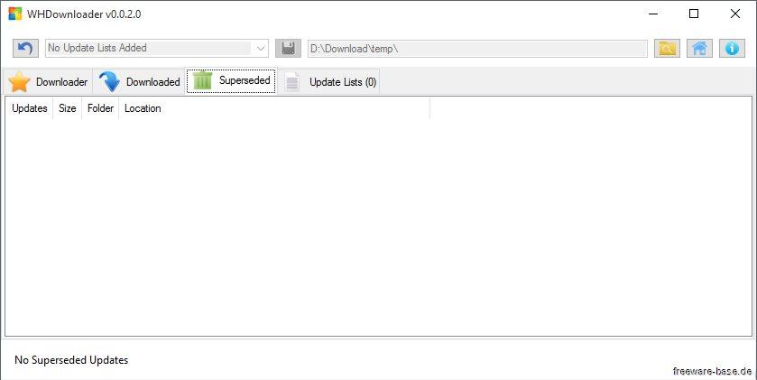 Vorschau WHDownloader der Hotfix Downloader - Bild 3