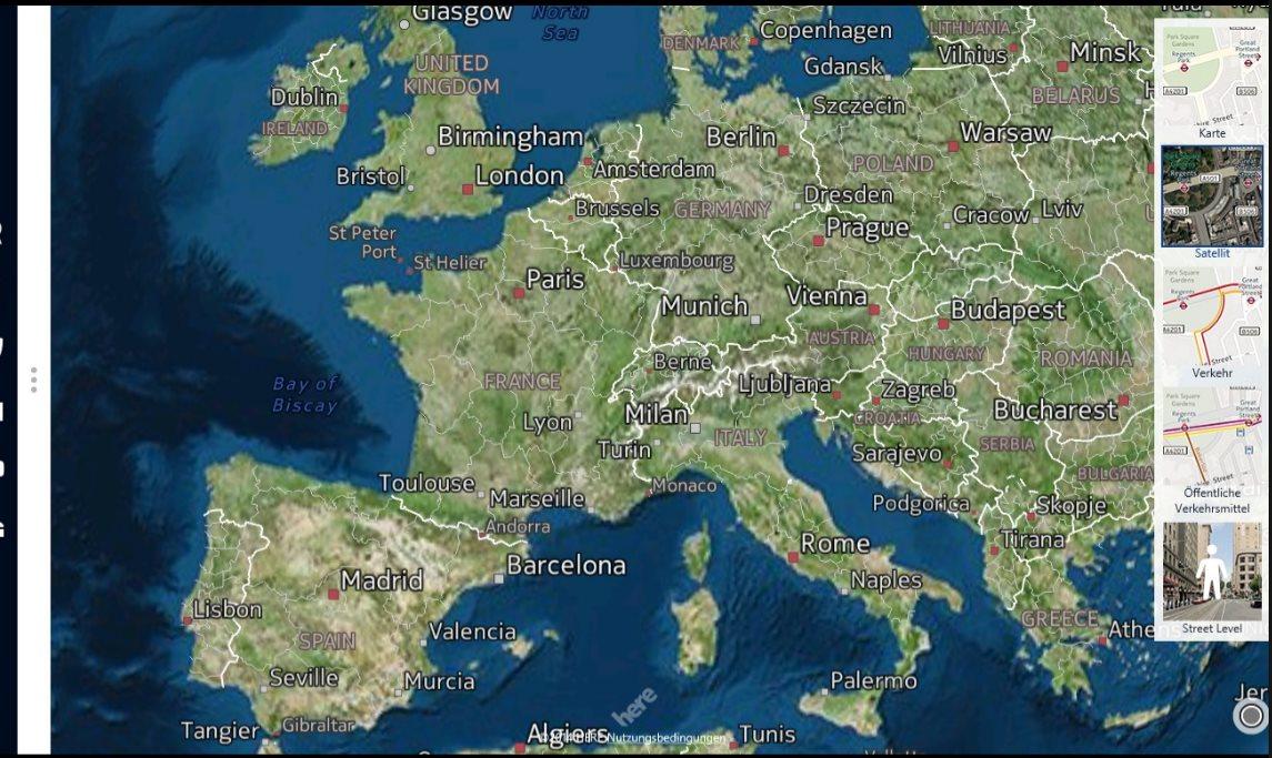 Vorschau Here Maps fuer Windows 8 und 10 - Bild 3