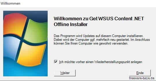 Vorschau Get WSUS Content .NET - Bild 3