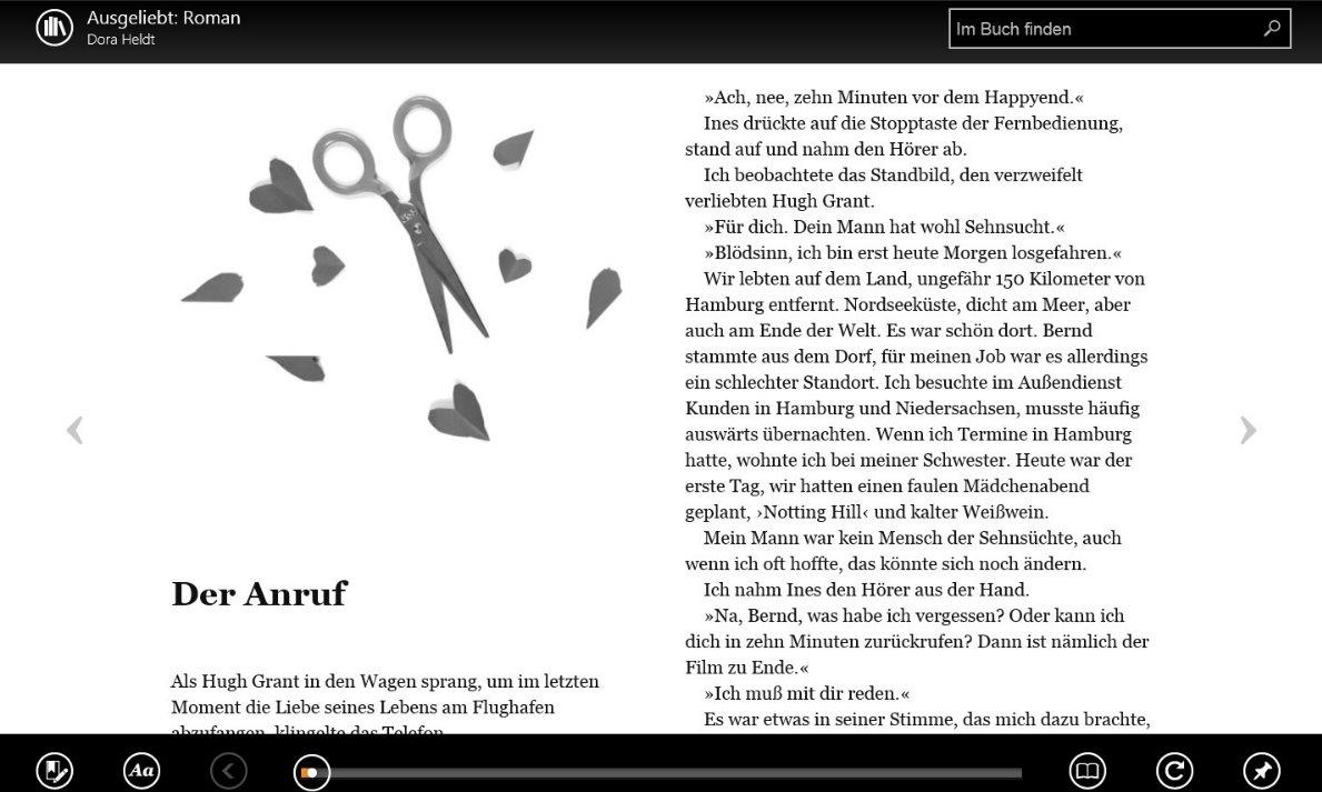 Vorschau Kindle fuer Windows 8 und 10 App - Bild 3