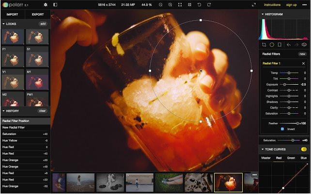 Vorschau Polarr Photo Editor für Chrome - Bild 3