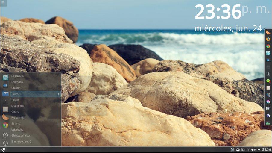Vorschau KaOS Linux - Bild 3