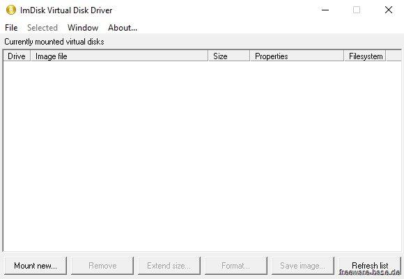 Vorschau ImDisk Toolkit - Bild 3