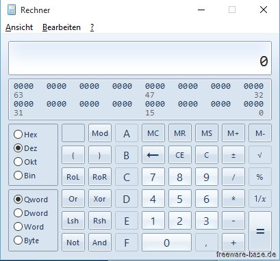 Vorschau Old Calculator fuer Windows 10 - Bild 3