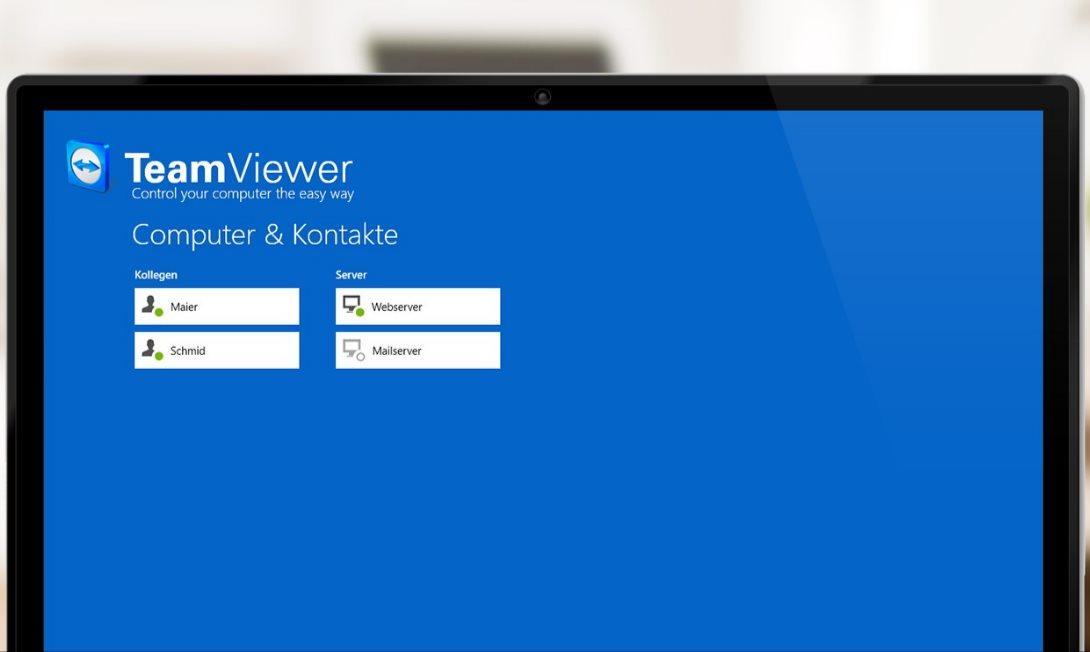 Vorschau TeamViewer Touch fuer Windows 10 App - Bild 3