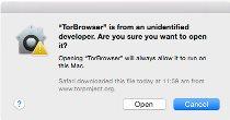 Vorschau Tor-Browser-Paket für Mac - Bild 3