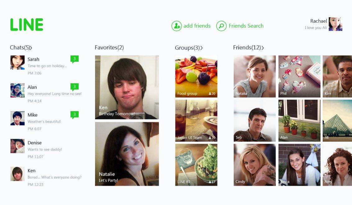 Vorschau Line fuer Windows 8 und 10 - Bild 3