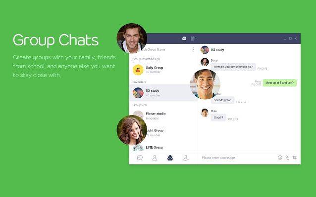 Vorschau Line Messenger für Chrome - Bild 3