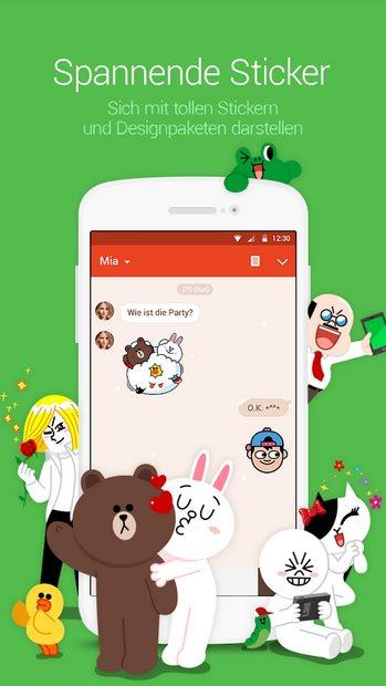 Vorschau Line Messenger für Android - Bild 3