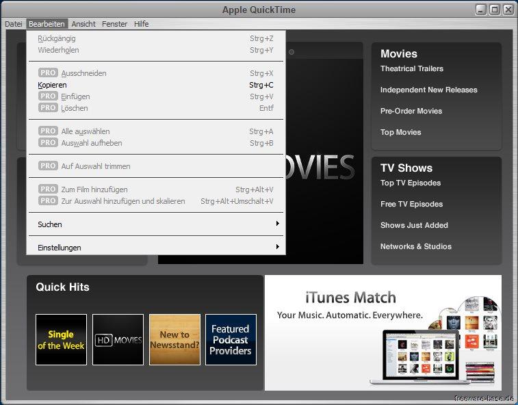 Vorschau Apple QuickTime fuer Win Vista bis Win 10 - Bild 3