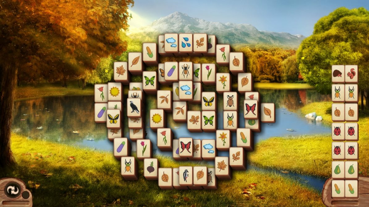 Vorschau Microsoft Mahjong fuer Windows 8 und 10 - Bild 3