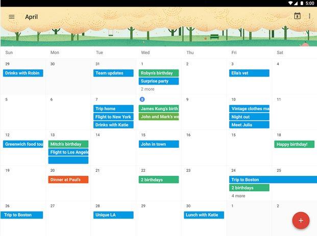 Vorschau Google Kalender fuer Android - Bild 3