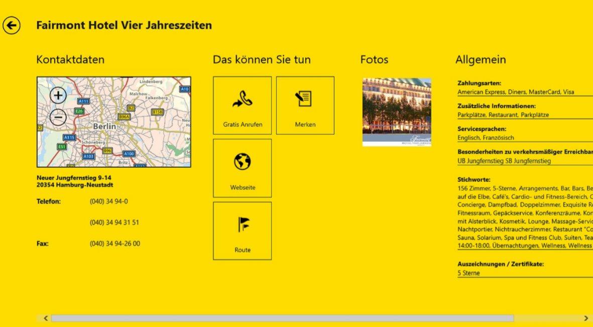 Vorschau Gelbe Seiten fuer Windows 8 und 10 - Bild 3
