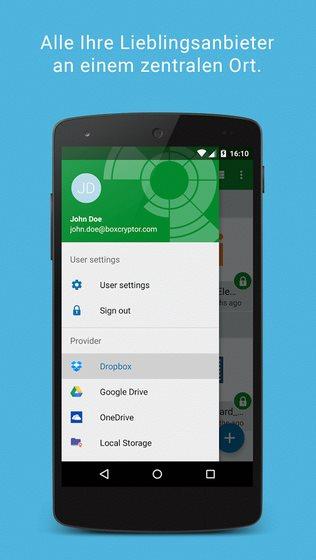 Vorschau BoxCryptor fuer Android - Bild 3