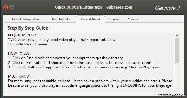 Vorschau Quick Subtitle Integrator - Bild 3