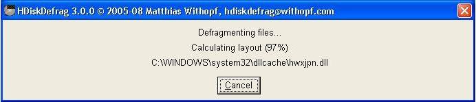 Vorschau HDiskDefrag - Bild 3