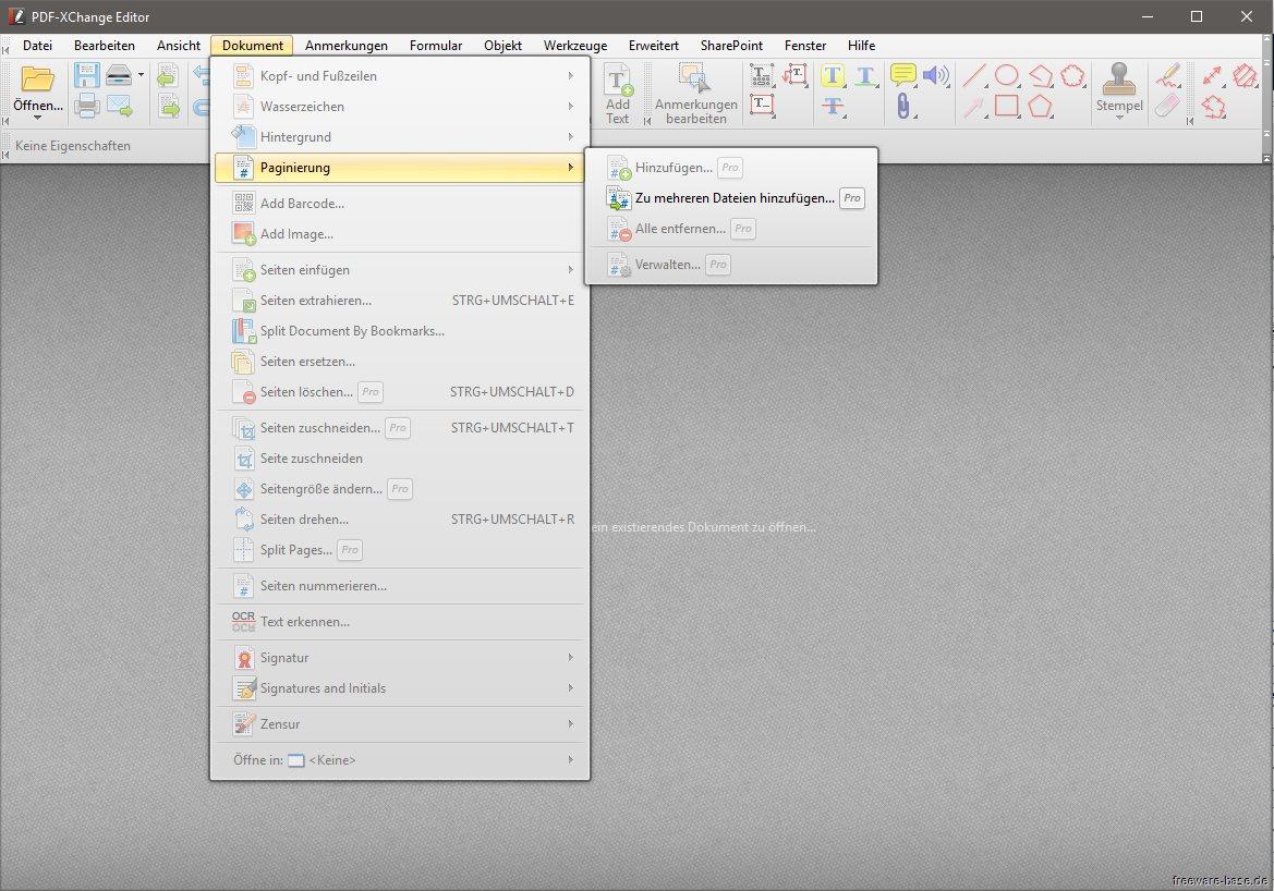 Vorschau PDF-XChange Editor und Portable - Bild 3