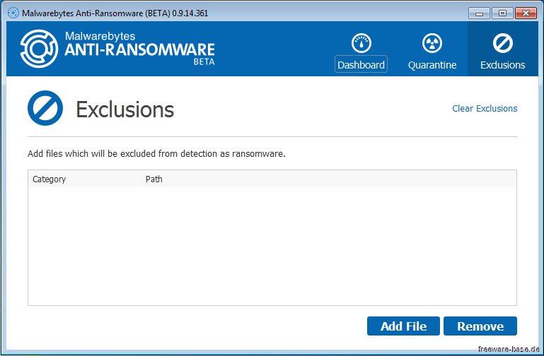 Vorschau Malwarebytes Anti-Ransomware - Bild 3