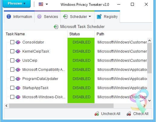 Vorschau Windows Privacy Tweaker - Bild 3