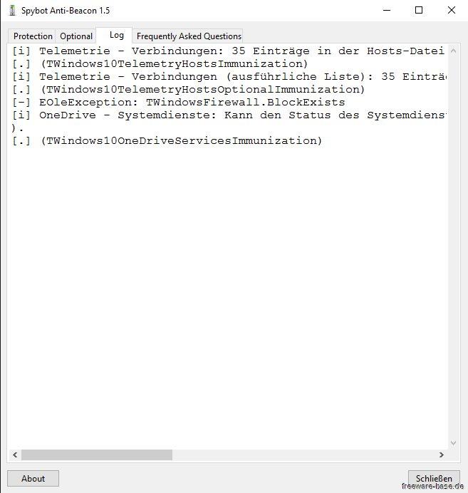 Vorschau Spybot Anti-Beacon für Windows 10 und Portable - Bild 3