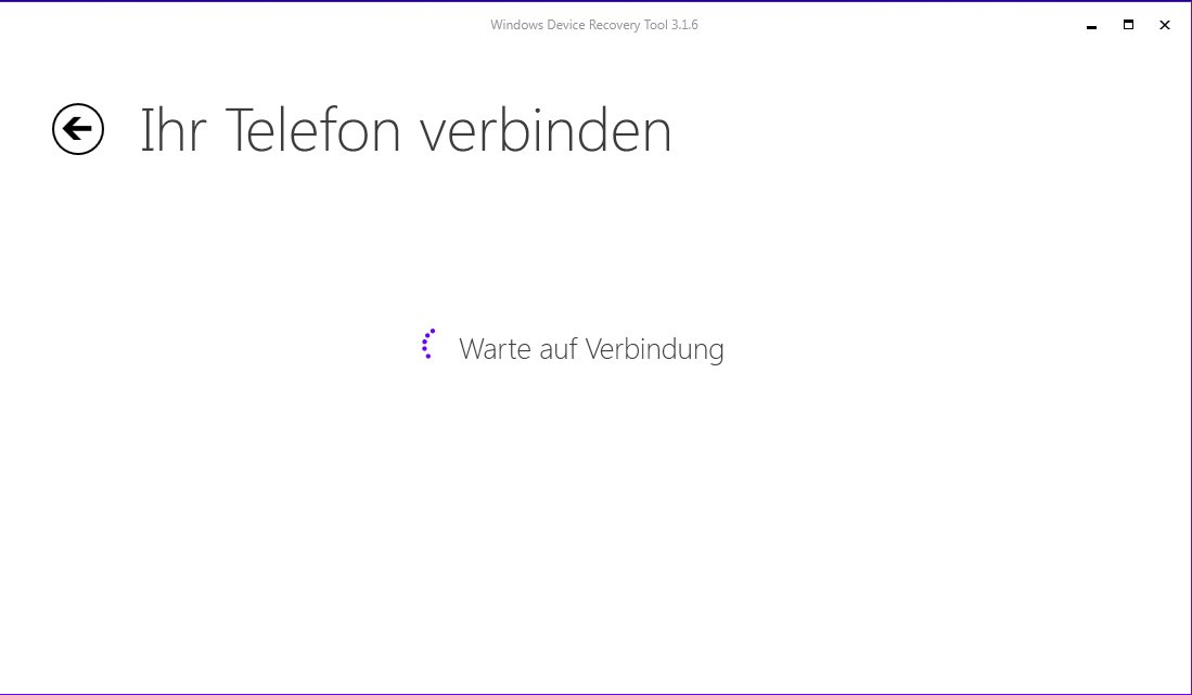 Vorschau Windows Phone Recovery Tool - Bild 3