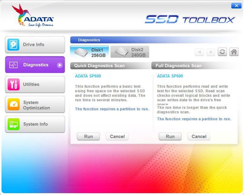 Vorschau Adata SSD ToolBox - Bild 3