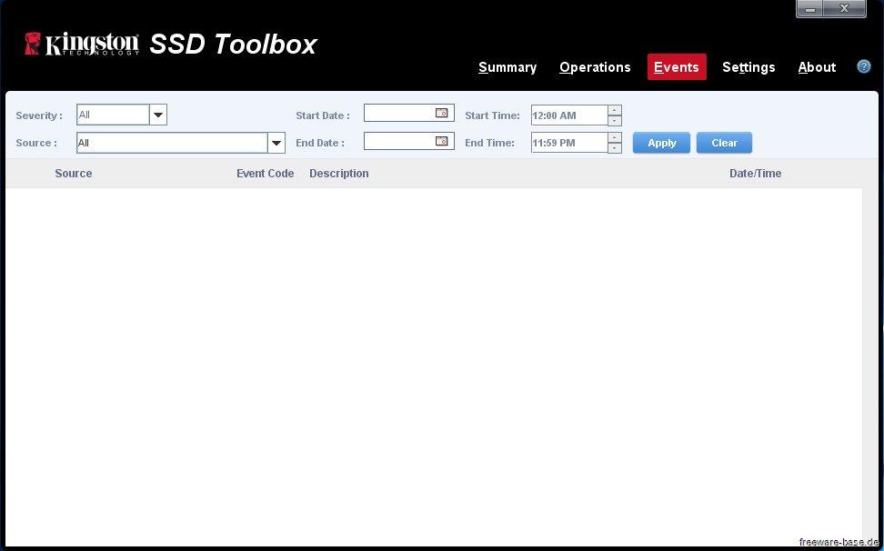 Vorschau Kingston SSD Toolbox - Bild 3