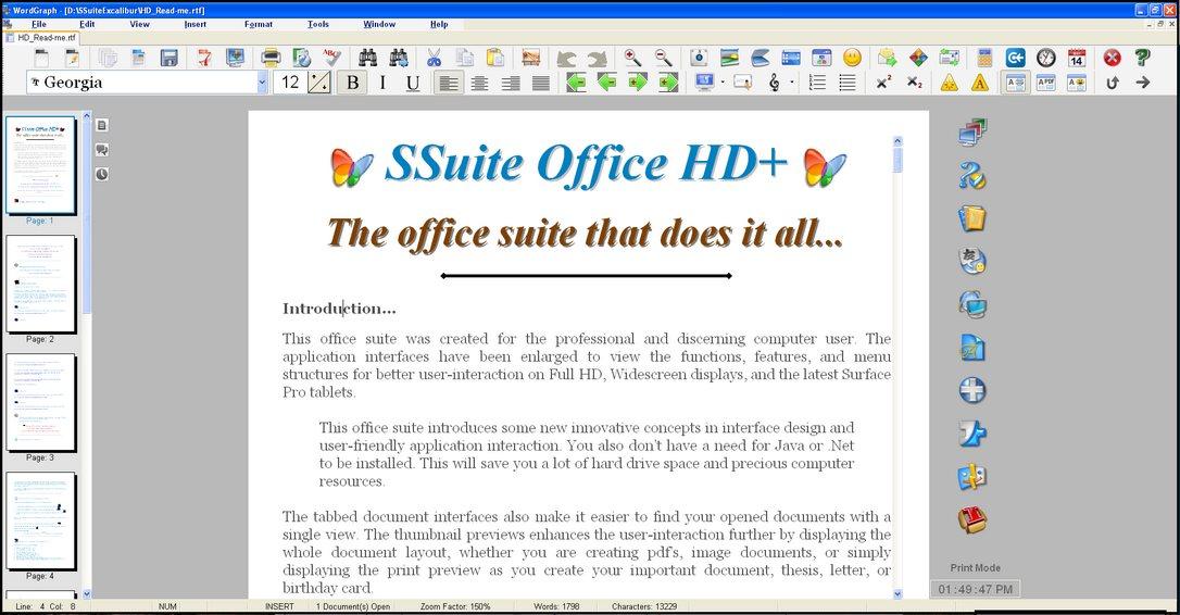Vorschau SSuite OmegaOffice HD+ - Bild 3