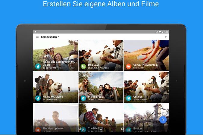 Vorschau Google Fotos für Android - Bild 3