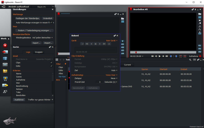 Vorschau Lightworks für Linux - Videobearbeitung - Bild 3